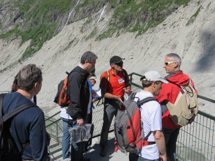 26 Walk down to Mer de Glace and questions