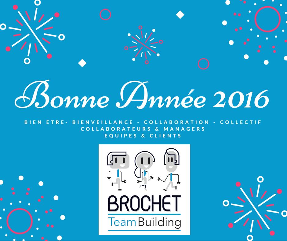 ecard Voeux 2016 Brochet Teambuilding